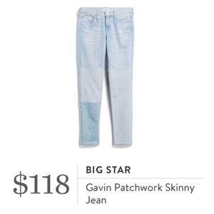 Stitch fix Big star jeans ankle skinny 30 31
